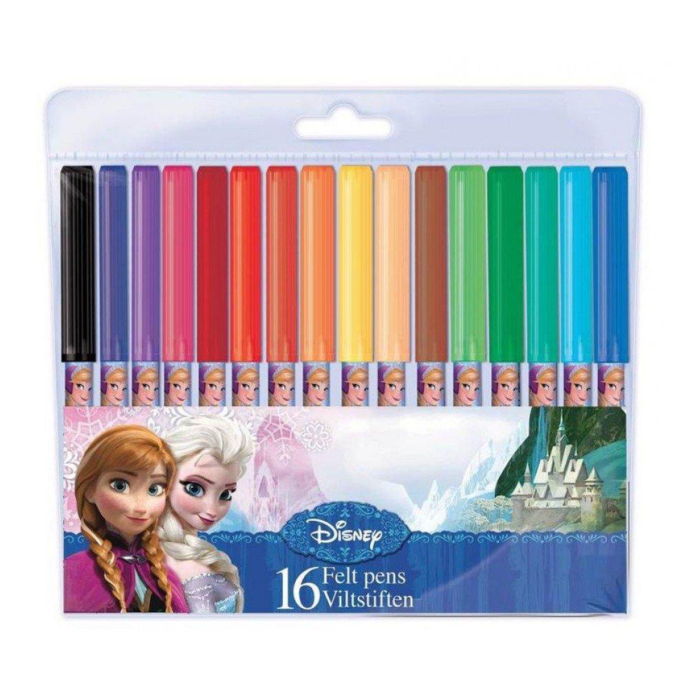 Disney Principesse Set 16 Pennarelli Princesas Disney