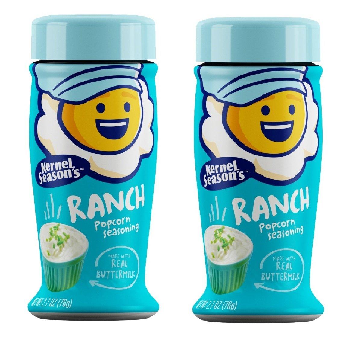 Kernel Season's Popcorn Seasoning-Ranch-2.7 Oz-2 Pack