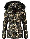 Marikoo Damen Jacke Winterjacke Steppjacke Vanilla (vegan hergestellt) 7 Farben + Camouflage XS-XXL