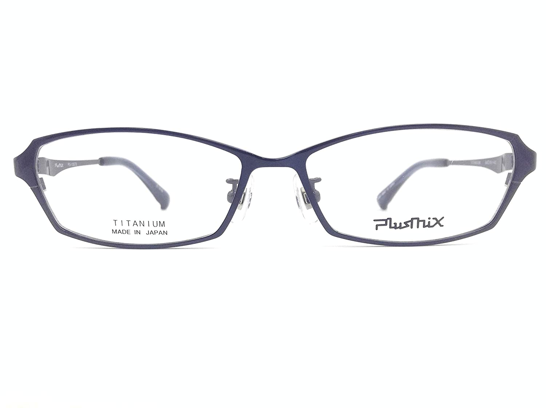 PlusMix(プラスミックス) メガネ PX-13573 col.370 54mm 日本製   B07KYGCM7Y