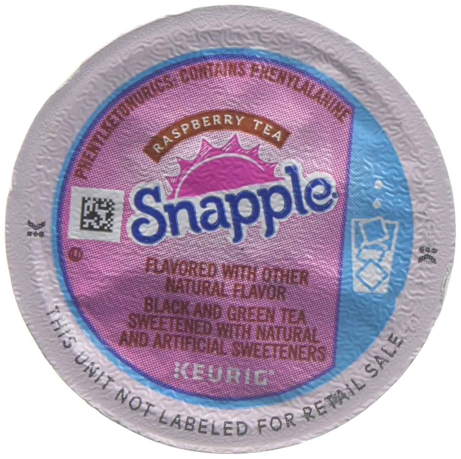Snapple Raspberry Iced Tea K-Cups (88 K-Cups)