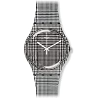 Swatch Women's SUOB113 For The Love Of W Year-Round Analog Quartz Silver Watch