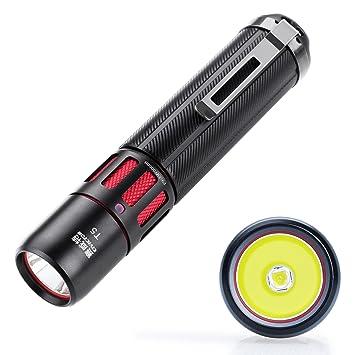 e37ccadf024dcb Mini Lampe Torche Puissante 1000 Lumens CREE Led Lampe Torche Led Exterieur  Batterie 18650 CR123A Etanche