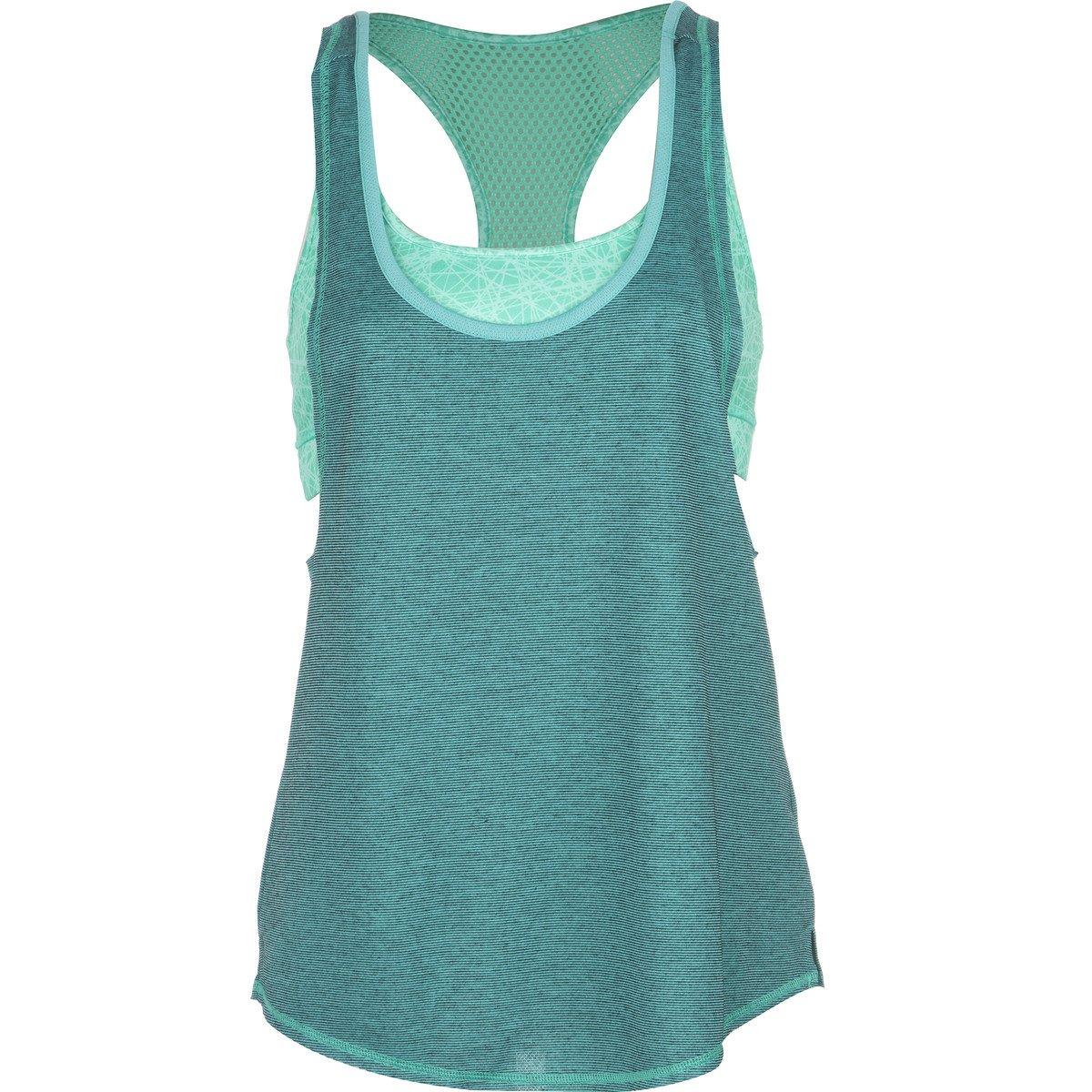 9eb74f6e06e52 Amazon.com  Hurley Juniors  Dri-Fit Tank Top with Sport Bra  Clothing