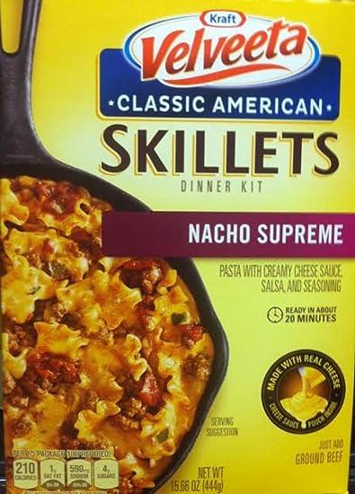 Amazoncom Kraft Velveeta Classic American Skillets Dinner Kit