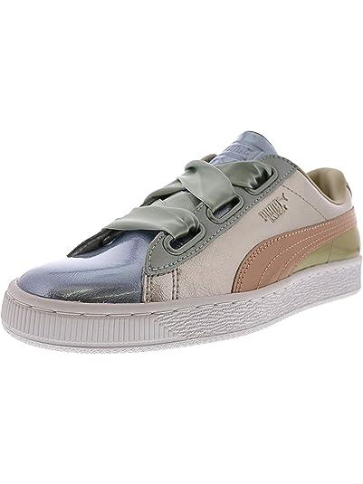 Amazon.com   PUMA Women s Basket Heart DE Wn Sneaker   Fashion Sneakers 2502c4eab9fd