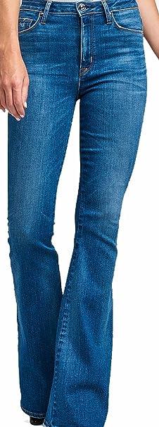 4c7a1e4b20b Hudson Women's Jean Holly HIGH Rise Flared Jeans Rogue WH536DYA ROGU ...