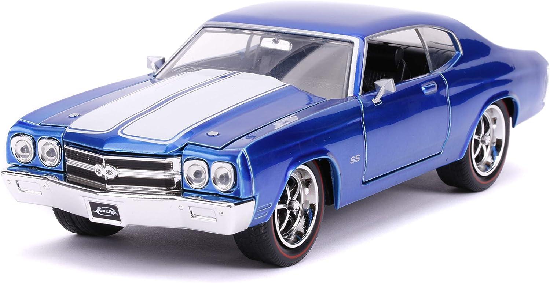 Jada Chevrolet Chevelle SS 1970 Blue 1//24
