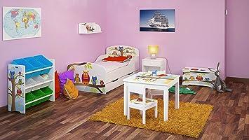 Chambre Pour Un Enfant Motif Hiboux Ensemble De 6 Meubles Lit Avec