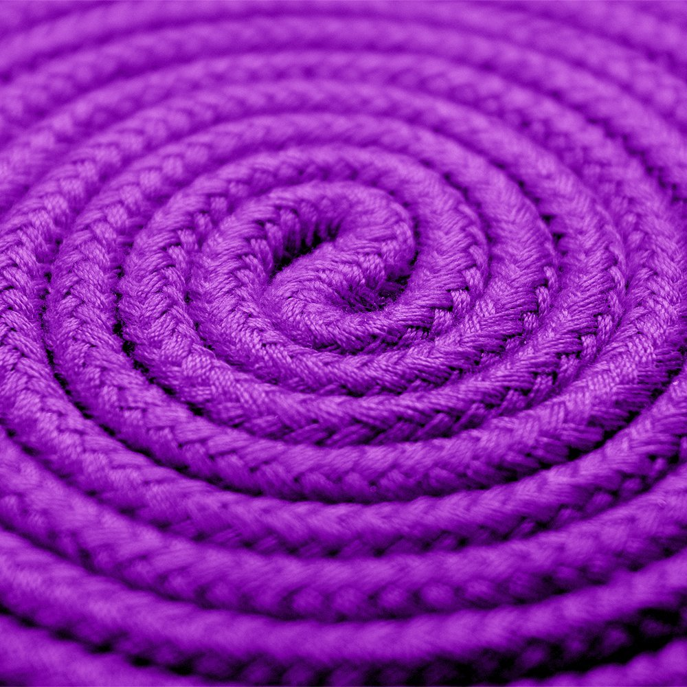 BONTIME All-Purpose Soft Cotton Rope - 32 Feet Length,1/3-Inch Diameter (Purple,Pack of 3) by BONTIME (Image #4)