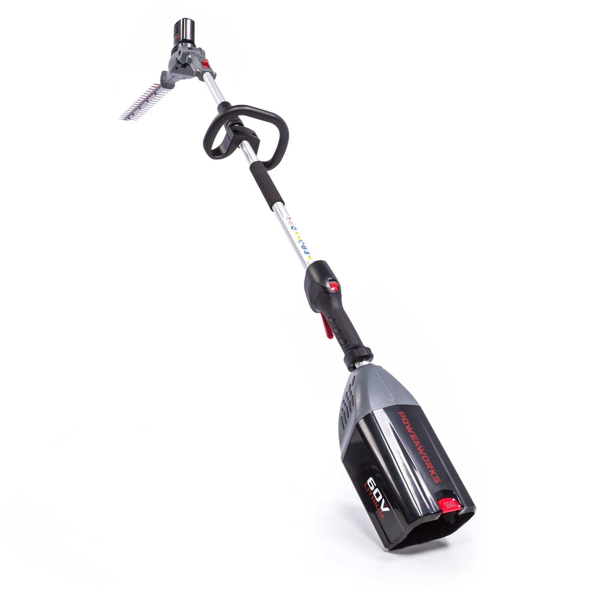 Powerworks 60V 20'' Pole Hedge Trimmer, Battery Not Included PHT60B00PW by POWERWORKS (Image #2)