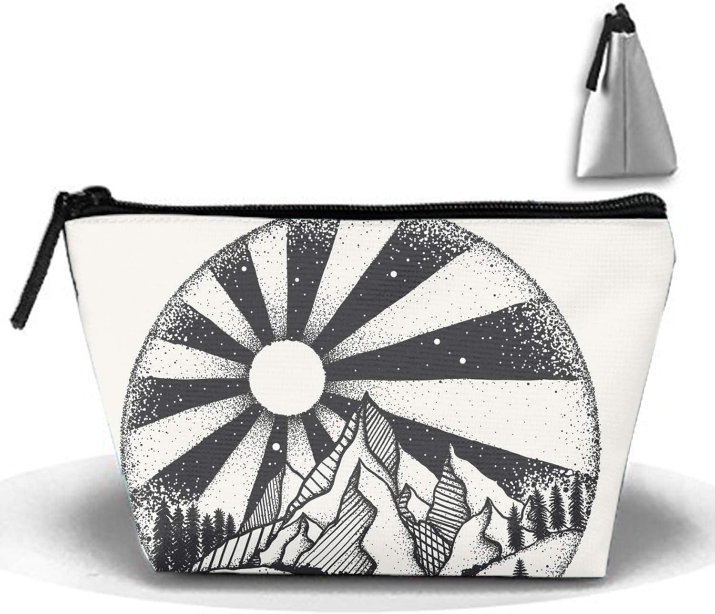 Patrón de amor de jirafa Trapecio Recibir bolsa Bolsa de maquillaje Oficina en el hogar Estuches de viaje: Amazon.es: Belleza