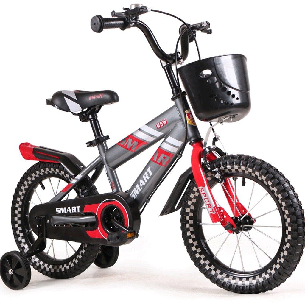 子供の自転車バイクバイク2-12歳の男の子1ベイビーサイクリング (色 : 赤, サイズ さいず : 12インチ) B07D76VKMP 12インチ 赤 赤 12インチ