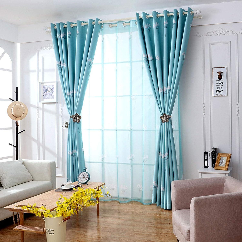 EEEKit 2 Pieces Vintage Magnetic Curtain Tieback Resin Flower Curtain Drapery Holdback Window Curtain Decorative Buckle Holder