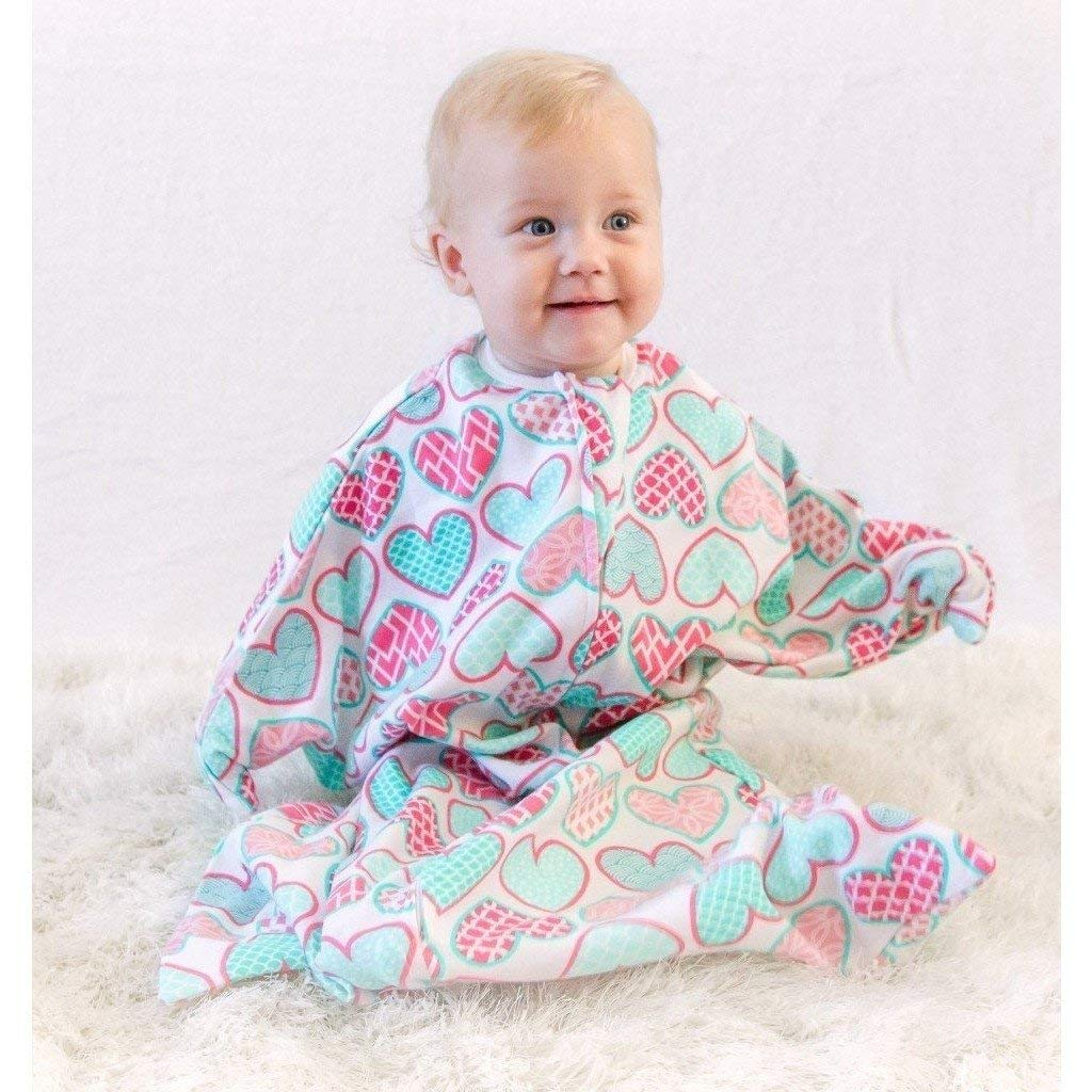 34+ lbs, 37-42 inches Extra Large 2T-3T Dream Castle You Swaddle Transition Zipadee-Zip