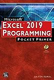 Microsoft EXCEL 2019 Programming Pocket Primer (Pocket Primer Series)