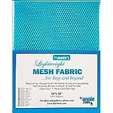 Annie Mesh Fabric LTWT 18x54ParrotBl, SUP209-PARROT Blue, Blue, 54 Inches