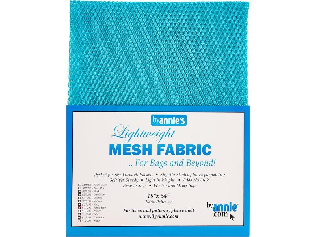 By Annie sup209Parrot Blue leggero, 100% poliestere tessuto a rete, Azzurro, 46x 137cm SUP209-PARROT BLUE
