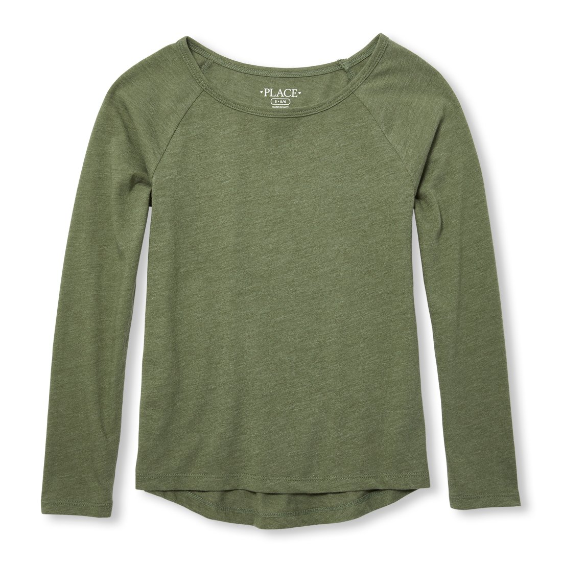 The Childrens Place Girls Basic Long Sleeve Layering Tee