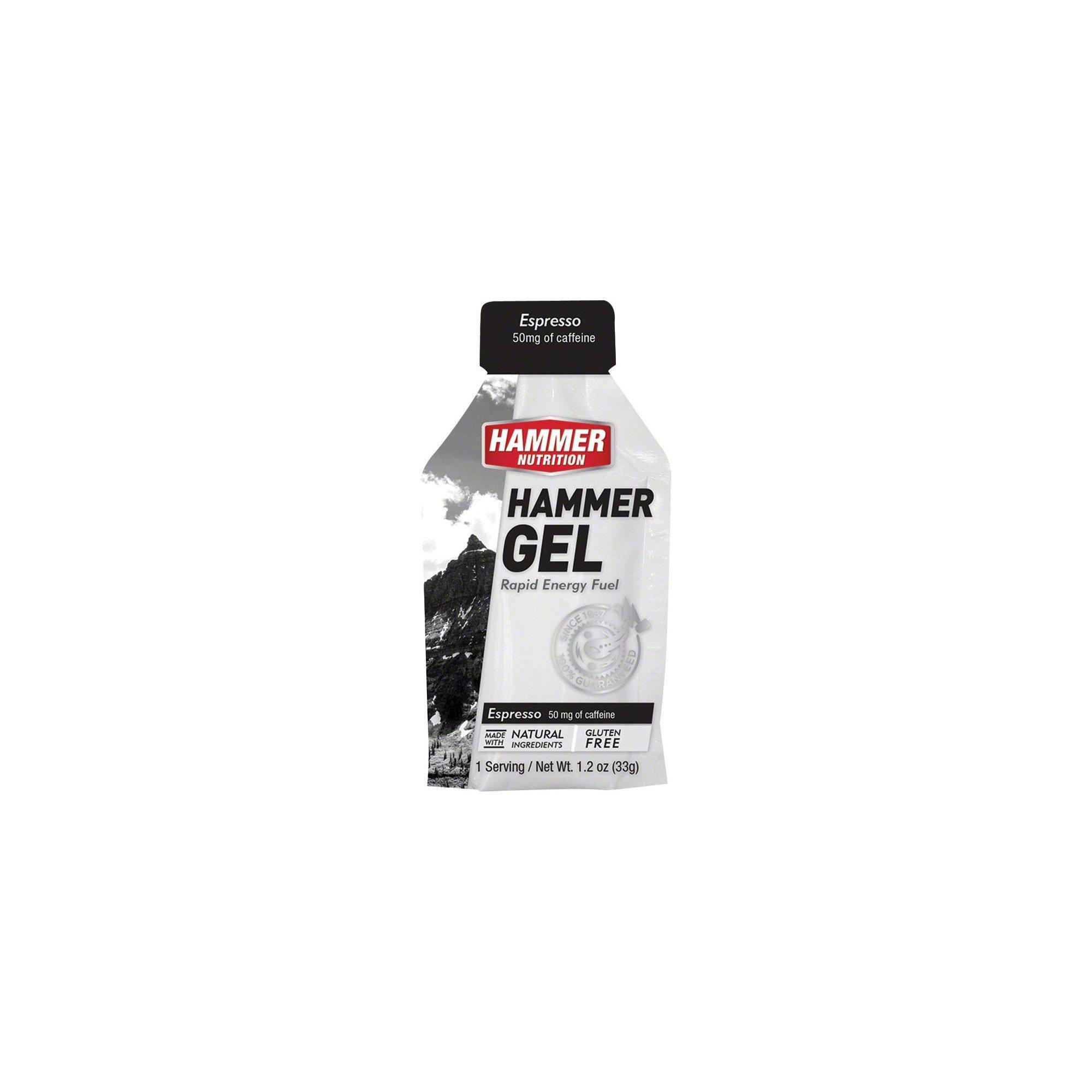 Hammer Nutrition Hammer Gel 24 pack, Espresso