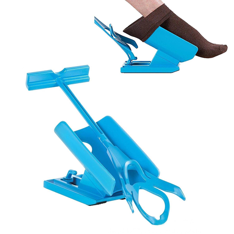 Yidarton Sock Slider Calcetín Slider Easy on Easy off Kit de Ayuda Ponerse los Calcetines y