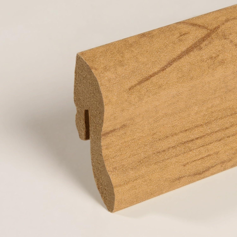 Sockelleiste Fu/ßleiste 40 x 22 x 2.600mm Dekor Zebrano