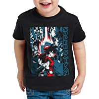 style3 Goku Vegeta Super Saiyan Camiseta para Niños T-Shirt Turtle Ball z Roshi Dragon