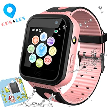 Amazon.com: 3G Kids Smart Watches GPS Tracker - Kids Android ...