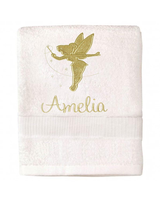 Personalised Disney Tinkerbell Bath/Beach Towel Sew Sew Special