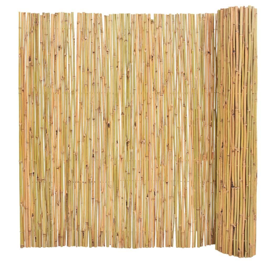 nuovo sadico VidaXL VidaXL VidaXL Recinzione da Giardino in bambù Naturale Bordatura Confini Recinzione  alta qualità