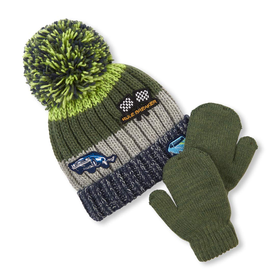 The Children's Place Baby Boys Hat and Mitten Set The Children' s Place