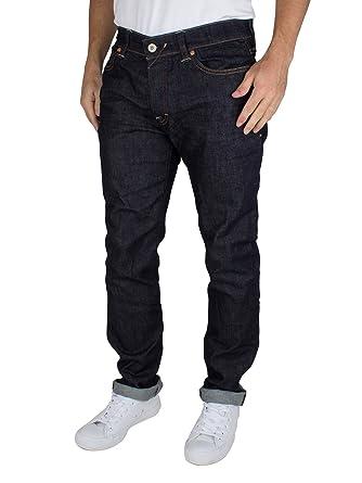 big sale 04706 8a0c8 Franklin & Marshall Men's Slim Fit Boston Jeans, Blue, 36W x ...