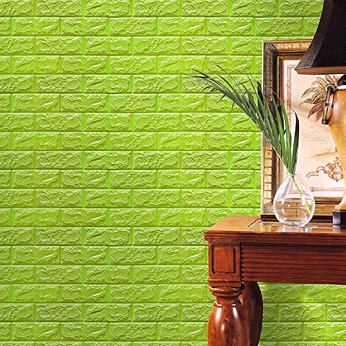 MURTIAL PE Foam 3D Wallpaper DIY Wall Stickers Wall Decor Embossed Brick - Crosses Embossed Iron