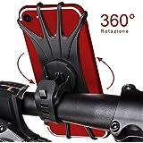 StillCool Supporto Bici Smartphone, Rotabile a 360 gradi, Supporto su Manubrio Universale per Bicicletta Ciclismo, per dispositivi da 4-6,5 pollici