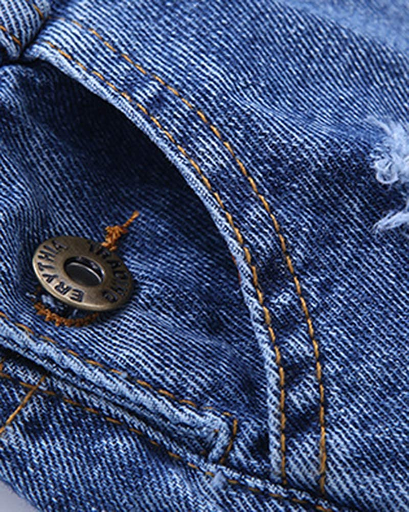 YouXin Ni/ños Dungaree Chicas Mezclilla Pantalones Cortos con Bolsillos Mono