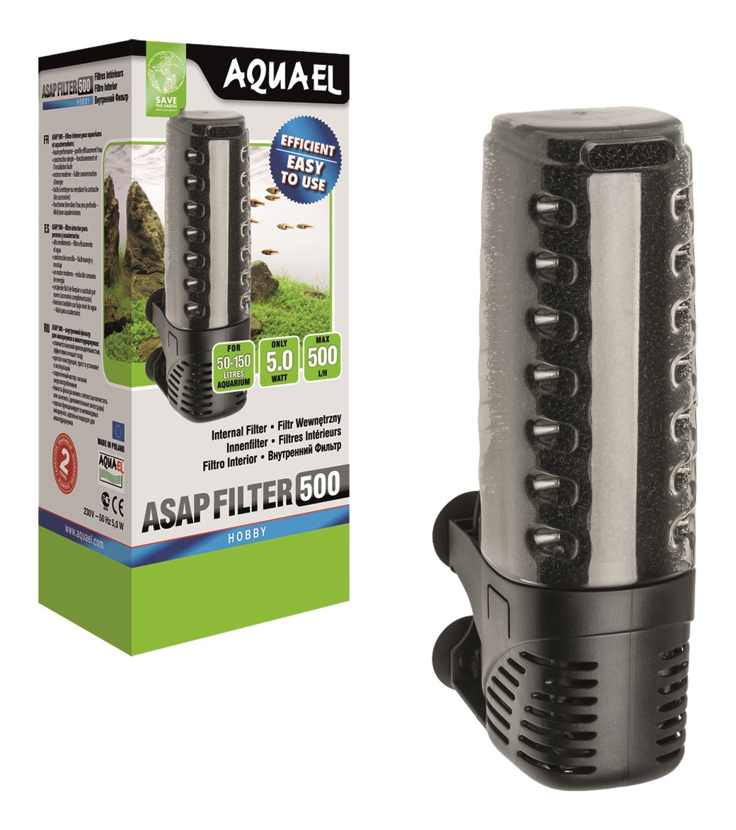 Aquael Filtro ASAP para acuarios 500/l//h