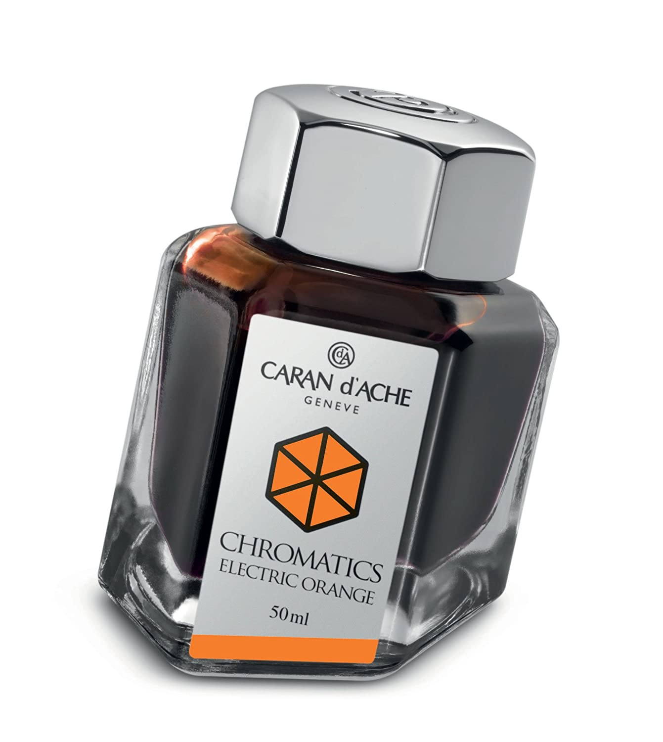 Caran d'Ache Chromatics - Inchiostro 50 ml, Colore: Blu Caran d' Ache 8011.14