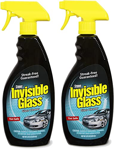 Invisible Glass 92164-2PK 22-Ounce Premium Glass Cleaner and Window Spray