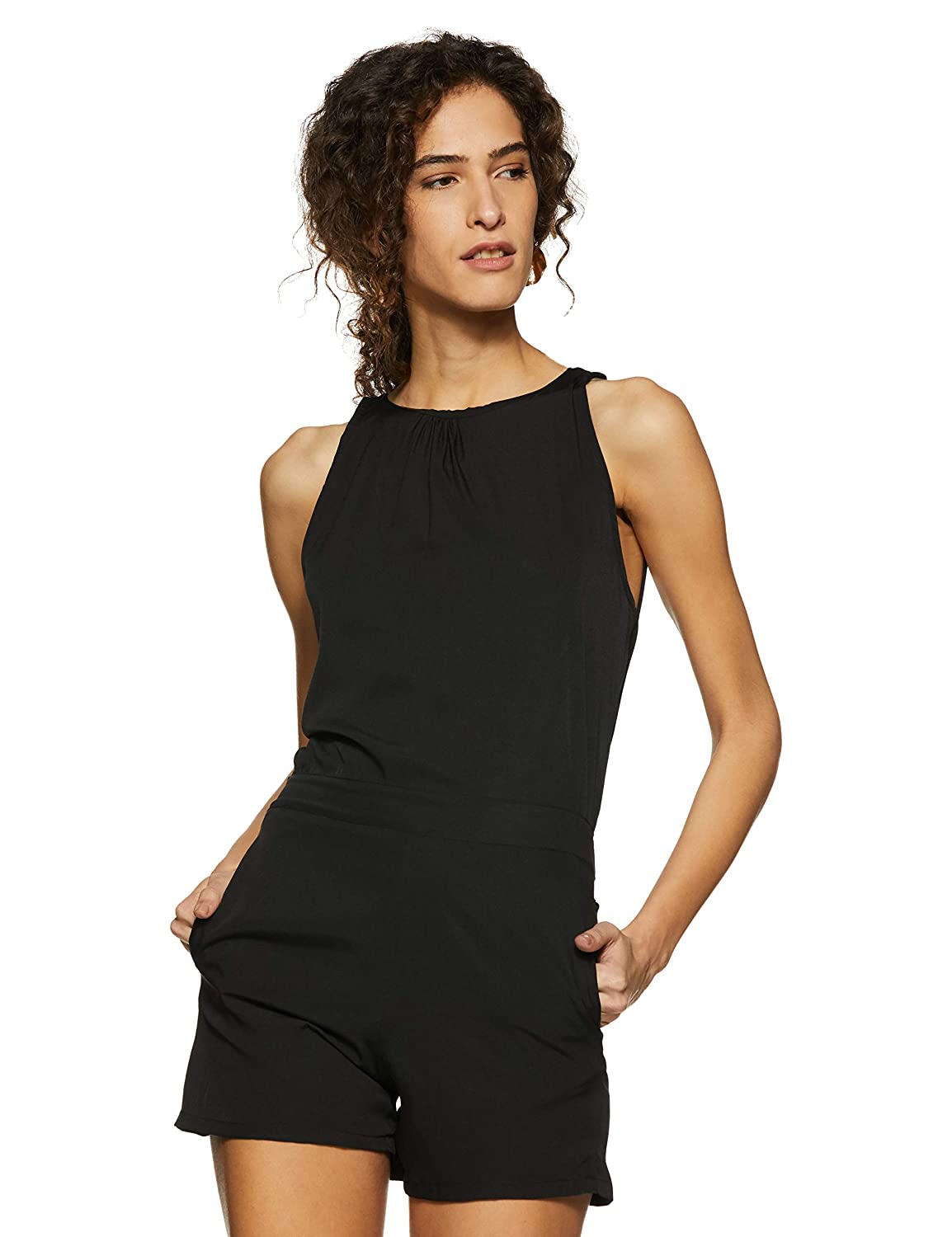 1e2bbf7edb5 Miss Chase Women s Crepe Bodycon Playsuit  Amazon.in  Clothing   Accessories