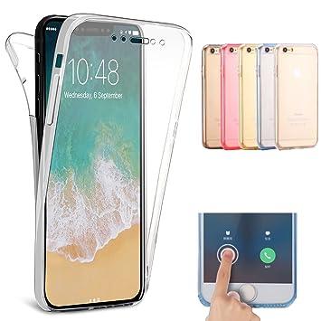 c66d356f7f Amazon | Shanenshop iPhone XR(6.1インチ) クリアーケース 360度全面 ...