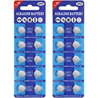 Fortune LR44 AG13 Alkaline 1.5V Button Coin Cell Batteries (20pcs)