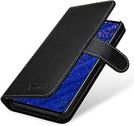 StilGut Custodia a Portafoglio per Huawei Mate 20 Lite, in Pelle con Chiusura Magnetica, Nero