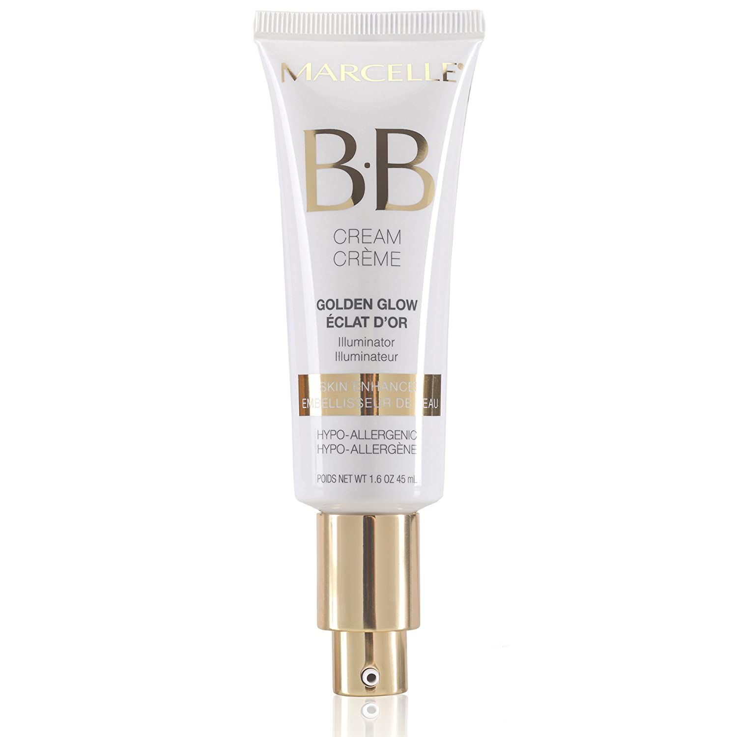 Marcelle Bb Cream Golden Glow Beauty Balm, Universal Shade, Hypoallergenic And Fragrance Free by Marcelle