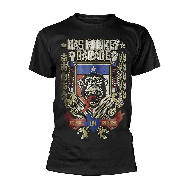 Gas Monkey Garage Hot Rod Customs Oficial Camiseta para Hombre ...