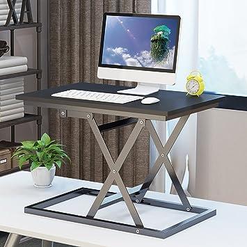 Ordenador portátil Escritorio Plegable computadora Escritorio Muebles Mesa elevable Soporte móvil Banco de Trabajo Mesas para Ordenador: Amazon.es: Hogar