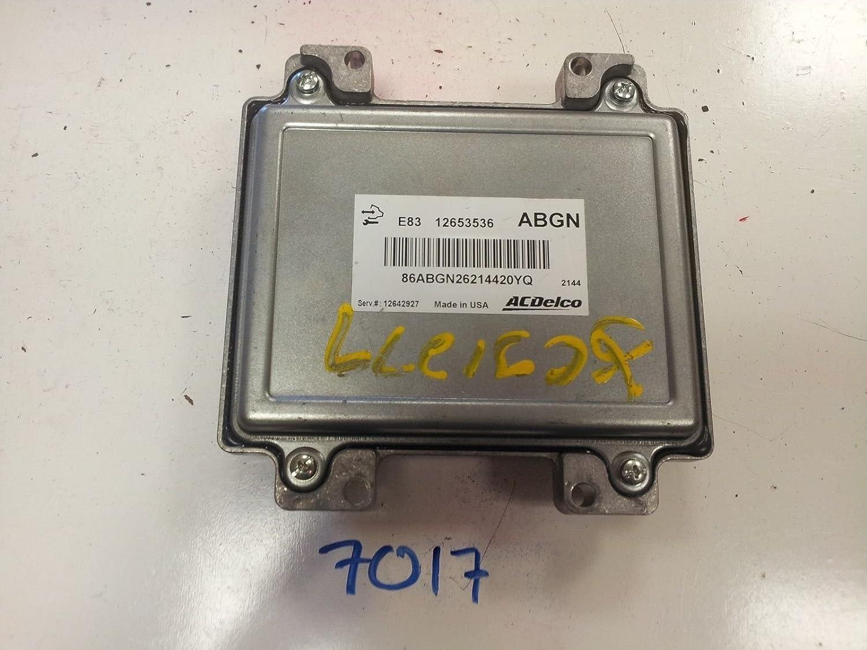 Amazon com: 2011 2012 CHEVY CRUZE 1 8L COMPUTER BRAIN ENGINE CONTROL