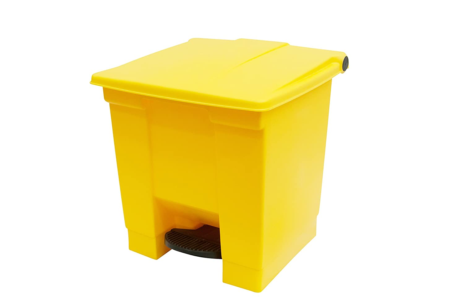 Rubbermaid Commercial Step On Trash Can FG614500DBLUE