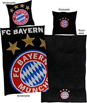 Bertels 17408 Fc Bayern München Bettwäsche Glow In The Dark Amazon