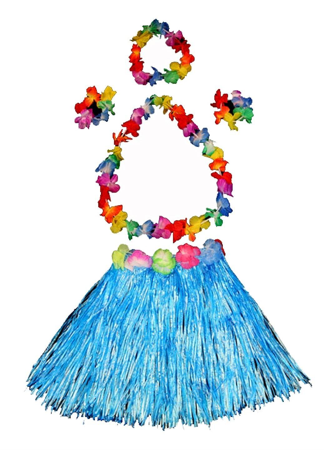 tlg. SET Bastrock Hawaiirock Rock Hawaii Hula Karneval Fasching Party Kette