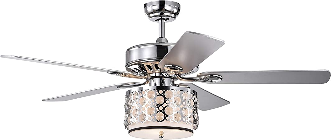 Home Accessories CFL-8413REMO/CH Shepherd Ventilador de Techo de ...